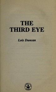 Cover of: The third eye | Lois Duncan