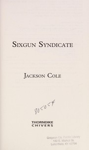 Cover of: Sixgun Syndicate