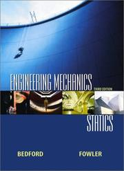 Cover of: Engineering Mechanics | Anthony Bedford