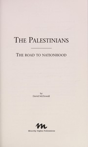 Cover of: The Palestinians | David McDowall