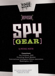 Cover of: Spy gear | Martin, Michael