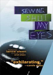 Cover of: Sewing shut my eyes | Lance Olsen