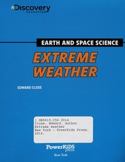 Cover of: Extreme weather | Edward Close