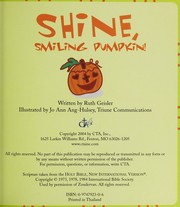 Cover of: Shine, Smiling Pumpkin |