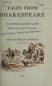Cover of: Tales from Shakespeare | Charles Lamb