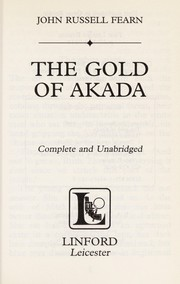 Cover of: The gold of Akada