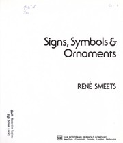 Cover of: Signs, symbols & ornaments | ReneМЃ Smeets