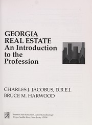 Cover of: Georgia real estate