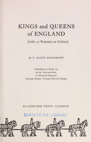 Cover of: Kings and queens of England