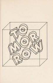 Cover of: Tomorrow | edited by Roger Elwood.