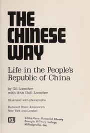 Cover of: The Chinese way