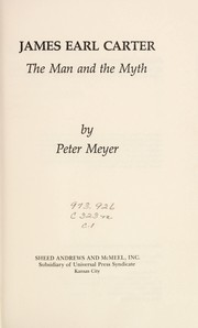 Cover of: James Earl Carter | Meyer, Peter