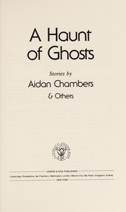 Cover of: A Haunt of ghosts |