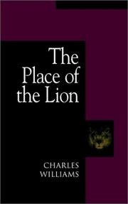 Cover of: The Place of the Lion