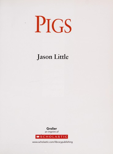 Pigs by Jason Little