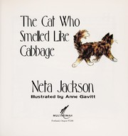 Cover of: The cat who smelled like cabbage