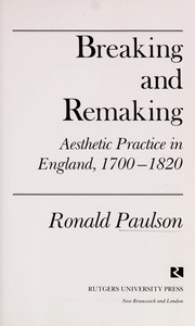 Cover of: Breaking and remaking