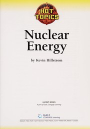 Cover of: Nuclear energy | Kevin Hillstrom