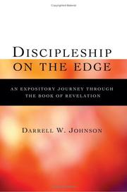 Cover of: Discipleship On The Edge | Darrell W. Johnson