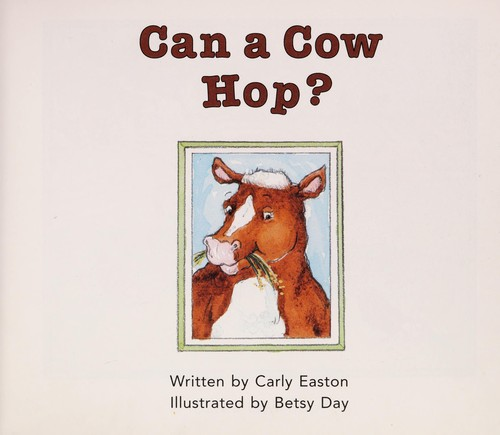 Can a Cow Hop by