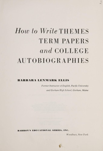 How to write themes and term papers book report mystery fourth grade ideas