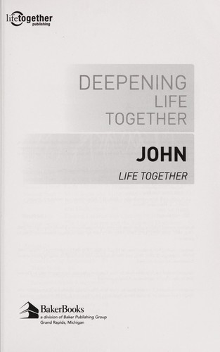 Deepening life together by