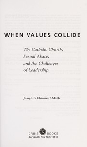 Cover of: When values collide