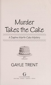 Cover of: Murder takes the cake