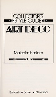Cover of: Collector's Style Guide