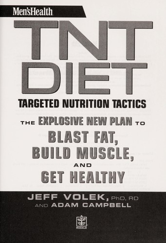 Men's health TNT diet by Jeff Volek