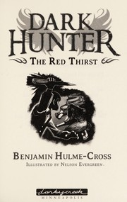 Cover of: The red thirst | Benjamin Hulme-Cross