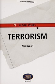 Cover of: Terrorism | Alex Woolf