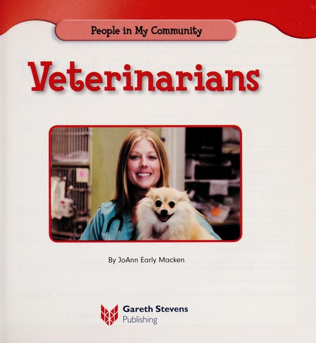 Veterinarians by JoAnn Early Macken