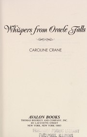 Cover of: Whispers from Oracle Falls | Caroline Crane