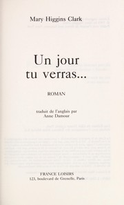 Cover of: Un jour tu verras--