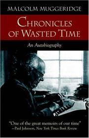Cover of: Chronicles of wasted time