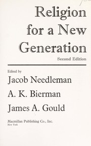 Cover of: Religion for a new generation | Jacob Needleman