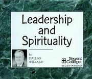 Cover of: Leadership and Spirituality