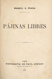 Cover of: Pájinas libres
