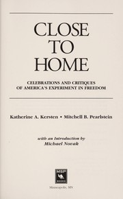 Cover of: Close to Home | Katherine Kersten