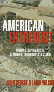 Cover of: American extremists