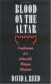 Cover of: Blood on the altar | Reed, David A.