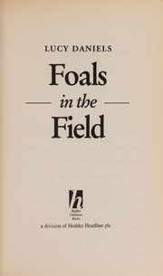 Cover of: Foals in the field | Lucy Daniels