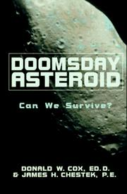 Cover of: Doomsday asteroid