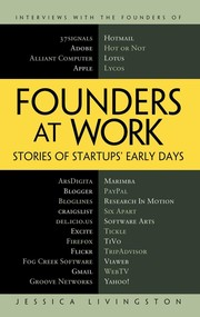 Cover of: Founders at work | Jessica Livingston