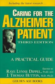 Cover of: Caring for the Alzheimer patient |