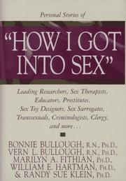 Cover of: Personal stories of How I got into sex |