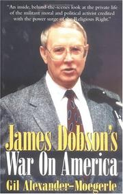 Cover of: James Dobson