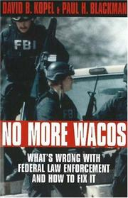 Cover of: No more Wacos | David B. Kopel