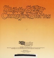 Cover of: Slightly scary campfire stories | Michael Teitelbaum